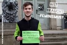Aktion auf dem Uniplatz am 18.03.2014. Kooperation mit der Heinrich-Böll-Stiftung Sachsen-Anhalt, dem Landesfrauenrat, dem Frauenzentrum Weiberwirtschaft, der AIDS-Hilfe und der Hans Böckler Stiftung.